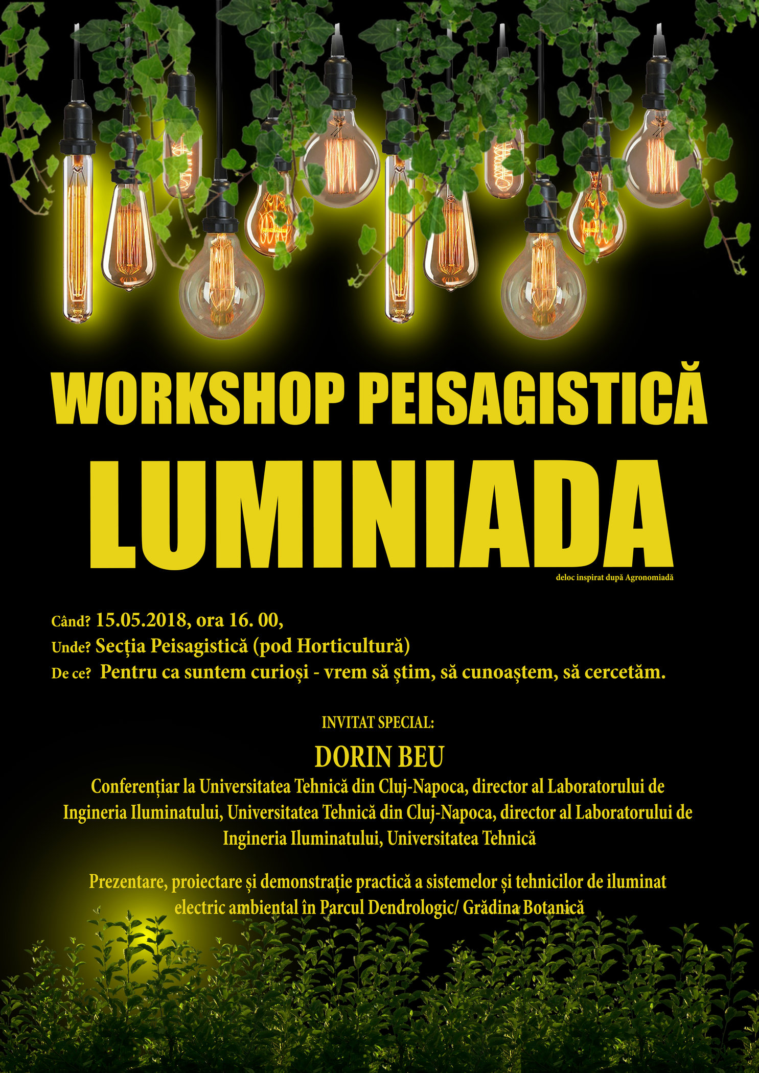 Workshop Peisagistică Luminiada